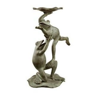 Ballet Dancer Frogs Bird Feeder   Bird Feeders