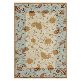 Loloi In Dora Paisley IN 01 Indoor/Outdoor Area Rug   Beige / Blue   Area Rugs
