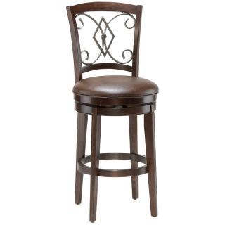 Hillsdale Pamplona 26 in. Swivel Counter Stool   Bar Stools