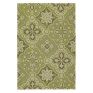 Kaleen Habitat Courtyard Indoor/Outdoor Rug   Wasabi   Area Rugs