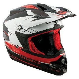 MSR Velocity Graphic Helmet , Helmet Type Offroad Helmets, Helmet Category Offroad, Distinct Name Red, Primary Color Black, Size Sm, Gender Mens/Unisex 359226 Automotive