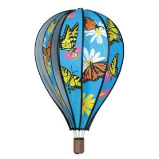 Premier Designs 22 in. Hot Air Balloon Butterflies Wind Spinner   Wind Spinners