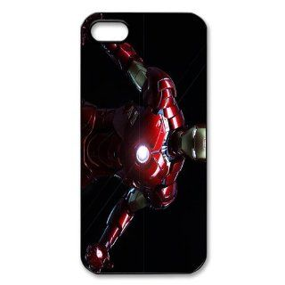 Custom Iron man Cover Case for iPhone 5/5s WIP 3115 Cell Phones & Accessories