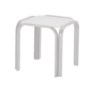 Telescope Casual 18.5 in. MGP Square End Table   Patio Tables