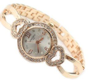 Bemaystar Women's Cute Heart Shape Rhinestone Plated Bracelet Watch at  Women's Watch store.