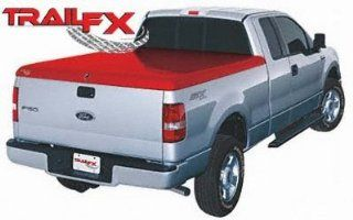 Trail FX 91009101X Red Tonneau Cover for Silverado / Sierra Crew Cab 04 06 Automotive