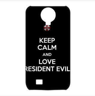 Resident Evil Logo 3D Cases Accessories for Samsung Galaxy S4 I9500 Cell Phones & Accessories