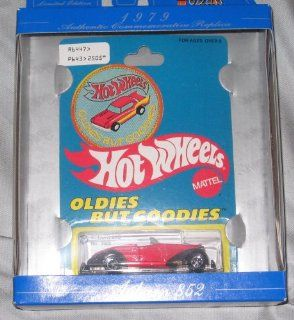 Hot Wheels 30th Anniversary 1979 Authentic Commemorative Replica Auburn 852 RED Oldies But Goodies 164 Scale Toys & Games