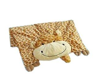 The Original My Pillow Pets Giraffe Blanket (Yellow and Tan) Toys & Games