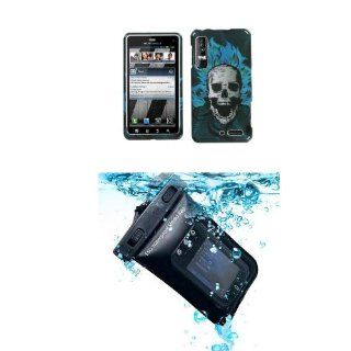 MOTOROLA XT862 (Droid 3) Dark Evil Cell Phone Case Protector Cover (free ESD Shield Bag) Cell Phones & Accessories