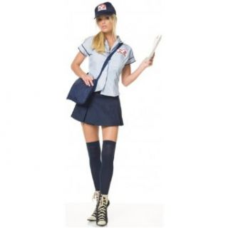 Mail Delivery Girl Costume   Large   Dress Size 12 14 Clothing