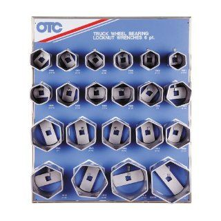 OTC 9850 6 Point Wheel Bearing Locknut Socket with Tool Board Automotive