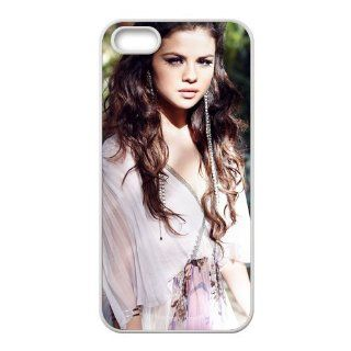 Fashion Selena Gomez Personalized iPhone 5 Rubber Silicone Case Cover  CCINO Cell Phones & Accessories