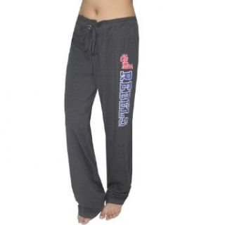 NCAA Mississippi Rebels Womens Lounge pants / Yoga Pants XL Dark Grey Clothing