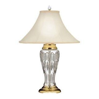Waterford Lighting 156074 Waves of Grain 1 Light Table Lamp in Polished Brass 156074