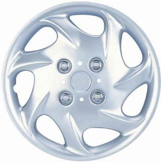 "Drive Accessories KT 881 15S/L, Nissan, 15"" Silver Replica Wheel Cover, (Set of 4) Automotive"