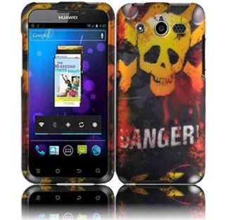 Danger Hard Case Cover for Huawei Honor M886 Cell Phones & Accessories