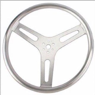 "SRP 15"" Aluminum Steering Wheel, Flat   910 32725 Automotive"