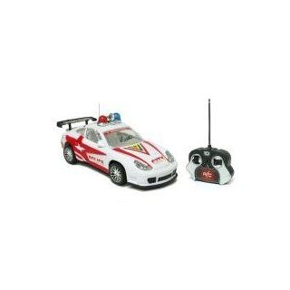 Police Porsche 911 Electric Remote Controller RTR RC Car (Color May Vary) Toys & Games