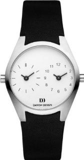 Danish Design�IV22Q890�Stainless Steel Case White Double Dial Women's Watch Designed byTirtsah Watches