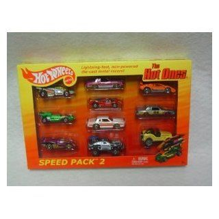 Hot Wheels 2012 The Hot Ones Speed Pack 2 All Chase Cars Shadow Jet / El Rey Special / Sol Aire CX4 / Montezooma / Porsche 917 / '84 Monte Carlo SS / Sting Rod / Lamborghini Countach LP500 / '84 Pontiac Grand Prix / Roll Patrol Toys & Games