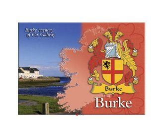 Burke Clan Metallic Picture Fridge Magnet   Spoon Rests
