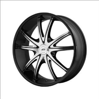 "American Racing Ar897 Gloss Black Wmachine 18x8"" Gloss Black w/Machine   38 offset Automotive"
