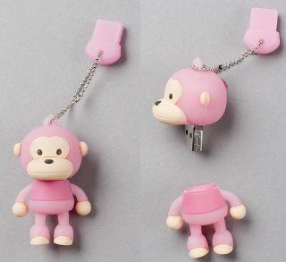 "USB Flash Memory Drive(stick/pen/thumb) 4GB Pink ""Monkey"" Computers & Accessories"