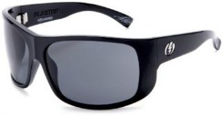 Electric Visual Blaster Polarized Sunglasses,Gloss Black Frame/Grey Polarized Lens,one size Clothing