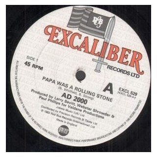 "Papa Was A Rolling Stone 12 Inch (12"" Vinyl Single) UK Excaliber 1983 Music"