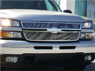 T Rex Grilles 2006   2006  Chevrolet Silverado 3500  Billet Grille Overlay   Bolt On & Insert   Vertical Automotive
