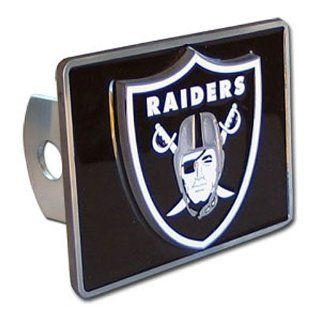 Oakland Raiders NFL Hitch Cover  Automotive Trailer Hitch Covers  Automotive