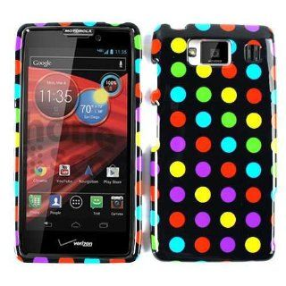 Motorola Droid RAZR MAXX HD XT926 Polka Dots Case Cover Skin Faceplate Hard New Cell Phones & Accessories