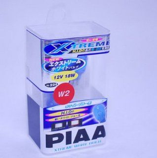 PIAA Xtreme White Car Interior / Exterior Light Bulb (Type W2, 921, 912) 19224 Automotive