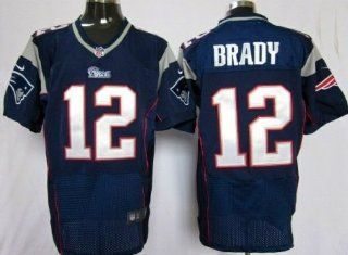 Tom Brady New England Patriots Blue Jersey 52 XXL  Sports Fan Jerseys  Sports & Outdoors
