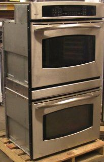 "GE Profile   JT952S0K1SS   30"" Stainless Steel Double Wall Oven Appliances"