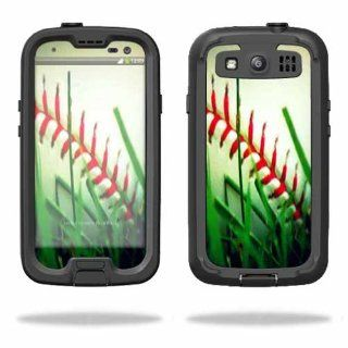 MightySkins Protective Vinyl Skin Decal Cover for LifeProof Samsung Galaxy S III S3 Case fre Sticker Skins Softball Cell Phones & Accessories