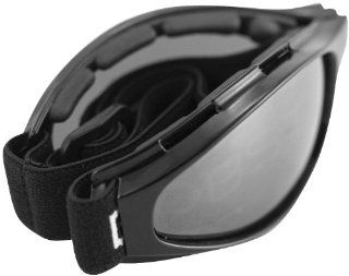Bobster Eyewear Crossfire Goggles , Distinct Name Smoke Lens, Gender Mens/Unisex, Primary Color Black BCR001 Automotive