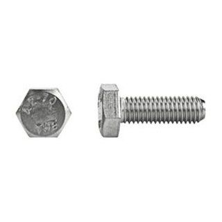 DrillSpot M12 1.75 x 80mm DIN 933 Class A2 Stainless Steel Cap Screw, Pack of 100