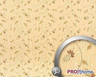 EDEM 935 31 luxury floral flower non woven wallpaper beige light ivory olive brown  10, 65 sqm (114 sq ft)