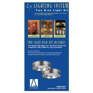 Sea Gull Lighting 9888 962 Ambiance LX Set of 2 Under Cabinet Lights, Brushed Nickel   Tub Filler Faucets