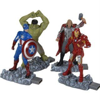Memory  USB Flash Drives Dane Elec Kit Marvel Avengers 8GB USB Drives 4 Pk Computers & Accessories