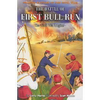 The Battle of First Bull Run The Civil War Begins (Graphic Battles of the Civil War) Larry Hama, Scott Moore 9781404264762 Books