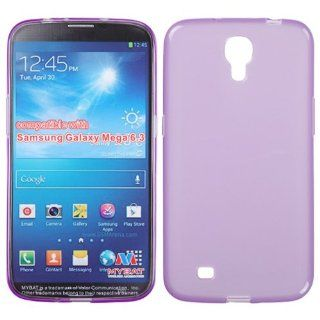 SAMSUNG GALAXY MEGA 6.3 SOLID PURPLE TPU RUBBER SKIN COVER SOFT GEL CASE from [ACCESSORY ARENA] Cell Phones & Accessories