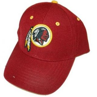 Washington Redskins Classic Baseball Cap   Adjustable, Officially Licensed National Football League Baseball Cap  Sports Fan Baseball Caps  Clothing