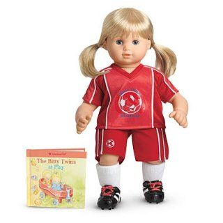 American Girl Bitty Twins Red Soccer Outfit also fits Bitty Baby ~DOLL IS NOT INCLUDED~ Toys & Games