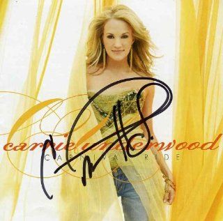 Carrie Underwood Rare Signed CD Certified Authentic JSA Carrie Underwood Entertainment Collectibles