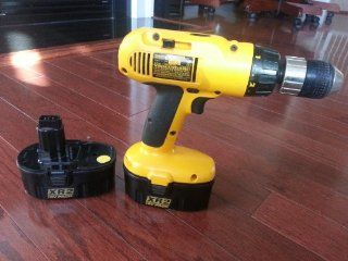 Factory Reconditioned DEWALT DW995K 2R 18 Volt 1/2 Inch Adjustable Clutch Drill/Driver Kit with 2 Batteries   Power Drills