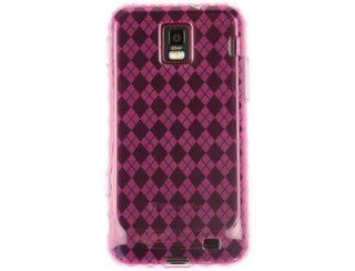 One Piece Flexible Plastic TPU Skin Phone Protector Cover Case Hot Pink For Samsung Focus S Cell Phones & Accessories