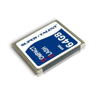 Super Talent 64 GB Flash Memory Card CF/64 600X Electronics